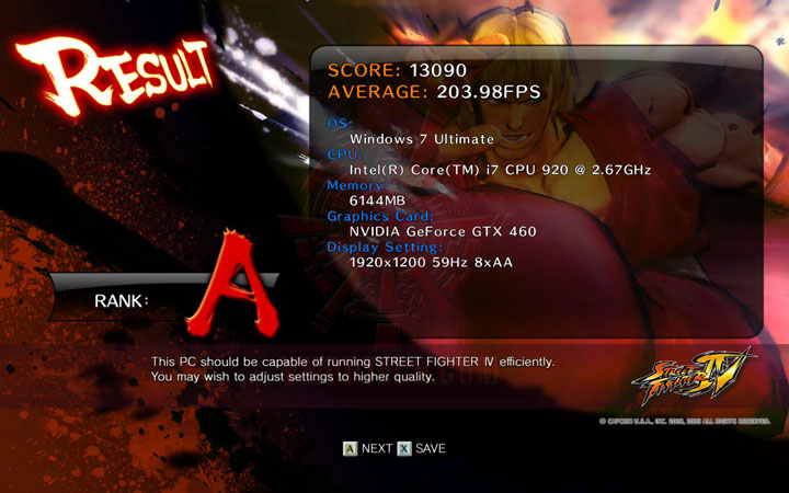 sf4 a GIGABYTE NVIDIA GeForce GTX 460 1024MB DDR5 SLI Review