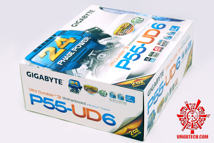 01 GIGABYTE P55 UD6 Review