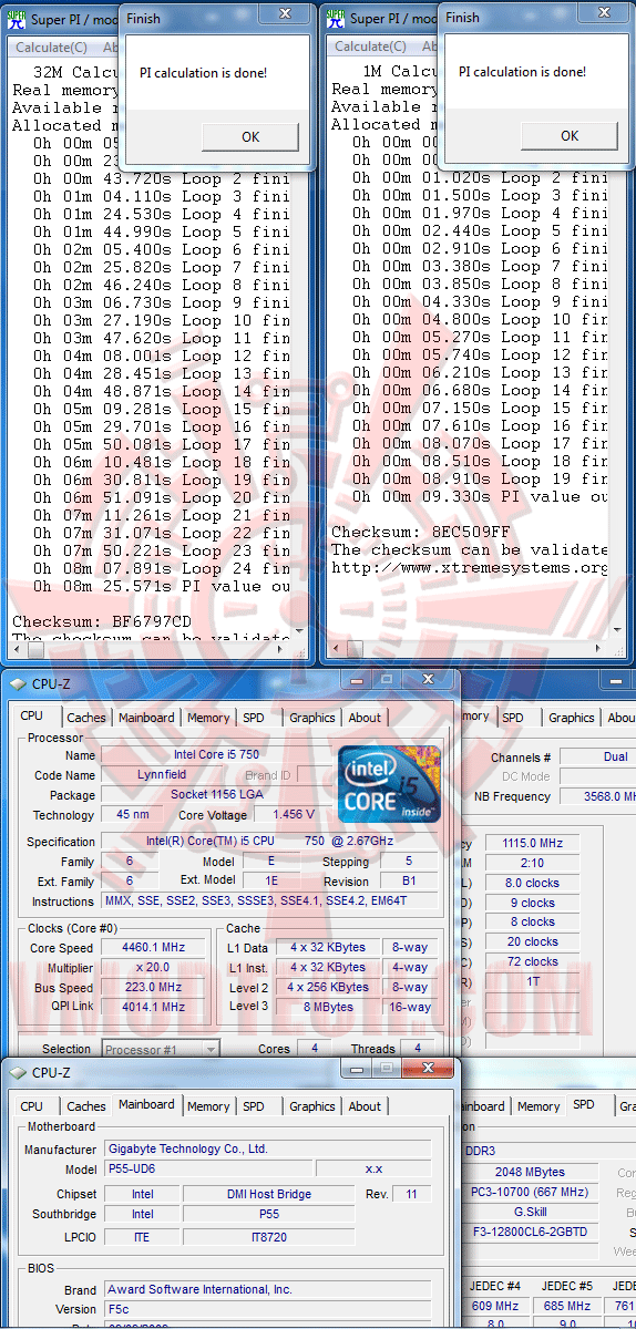 s32 GIGABYTE P55 UD6 Review