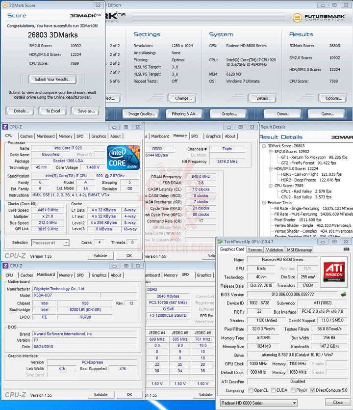 06 oc HIS AMD Radeon HD 6870 1GB GDDR5 Review