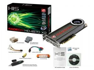 h4870x2 300x225 ็HIS HD4870X2 และ HD4830 ราคาพิเศษที่ร้านJEDI