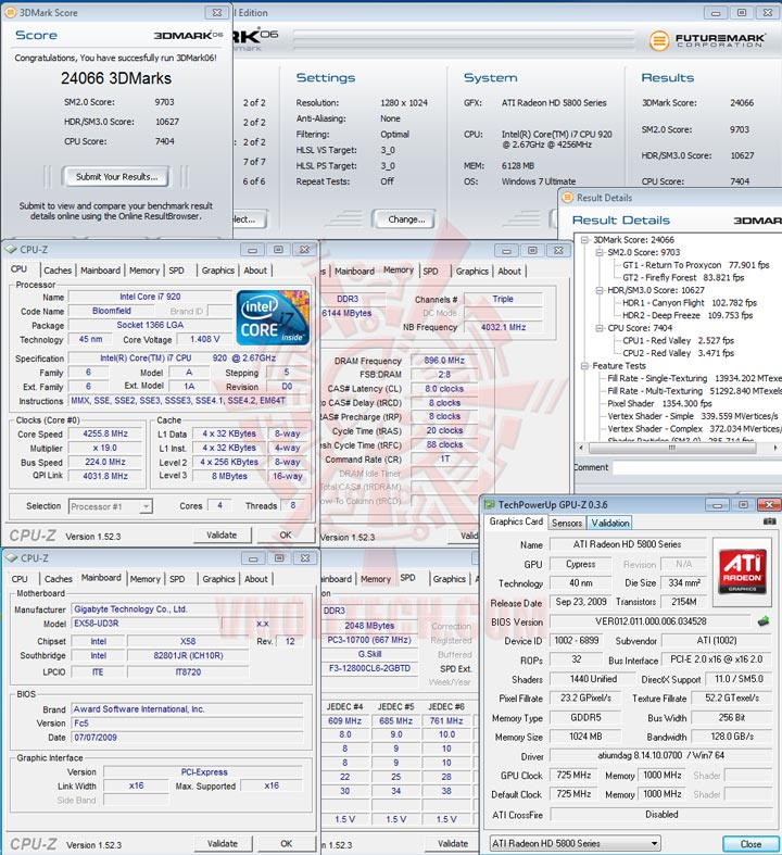 06 HIS Radeon HD 5850 1GB GDDR5 CrossfireX First Review