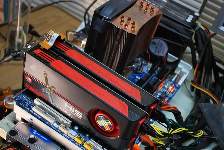 systems 5850 HIS Radeon HD 5850 1GB GDDR5 CrossfireX First Review