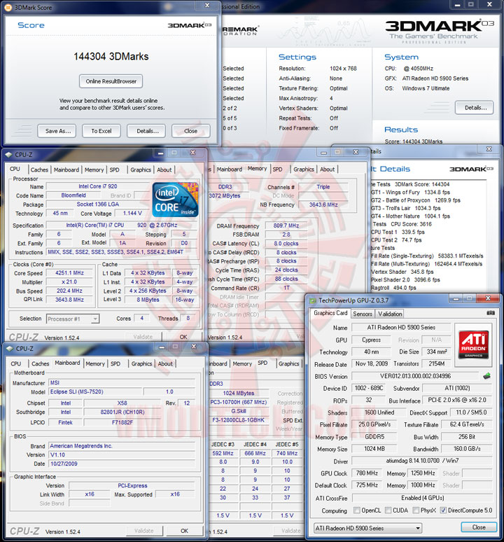 03 cfoc HIS Radeon HD 5970 2GB GDDR5 CrossfireX Review