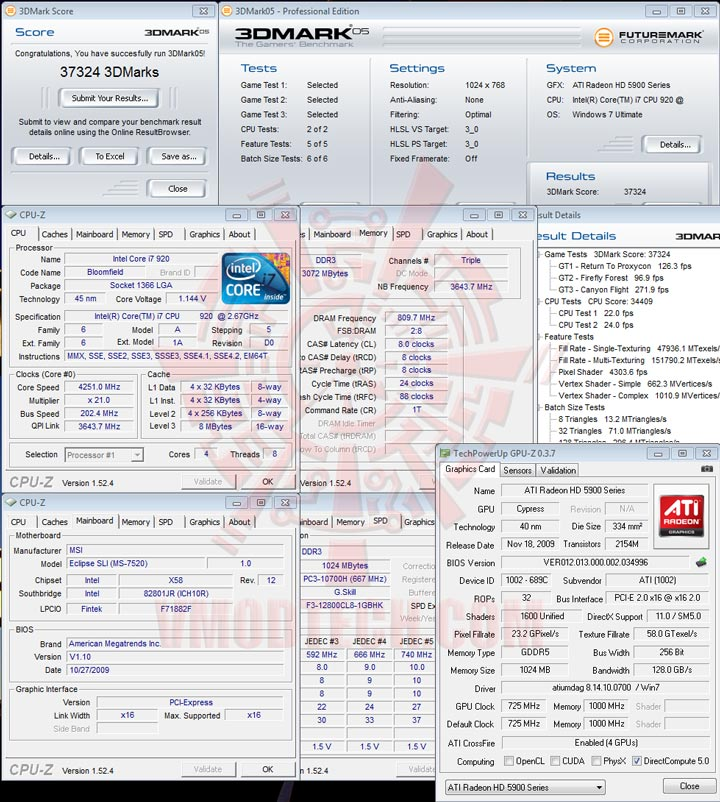 05 cfd HIS Radeon HD 5970 2GB GDDR5 CrossfireX Review