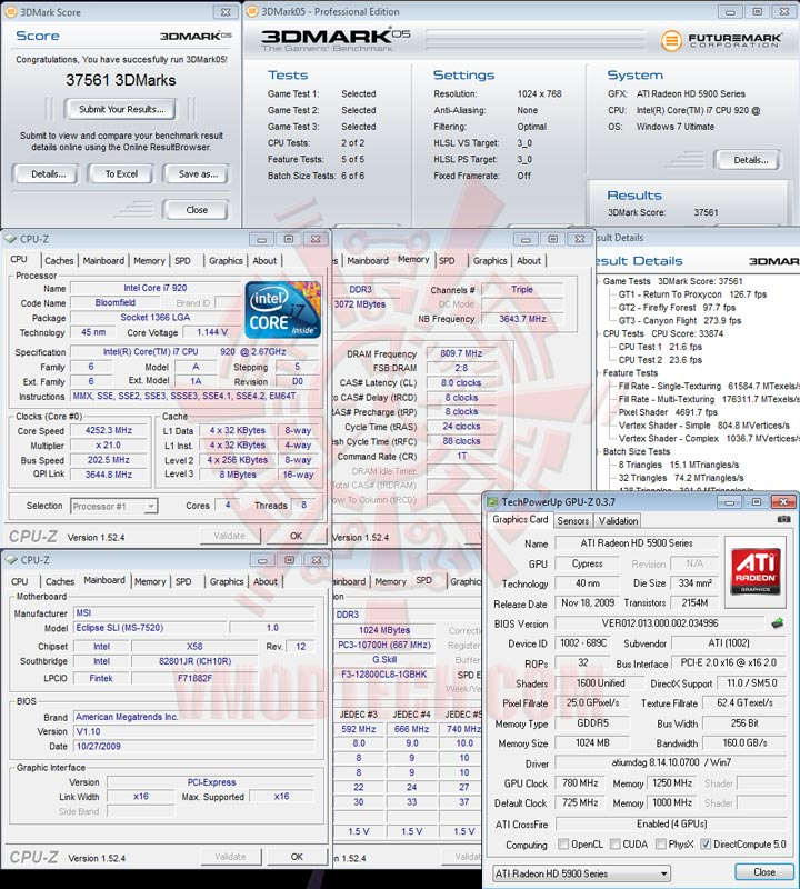 05 cfoc HIS Radeon HD 5970 2GB GDDR5 CrossfireX Review
