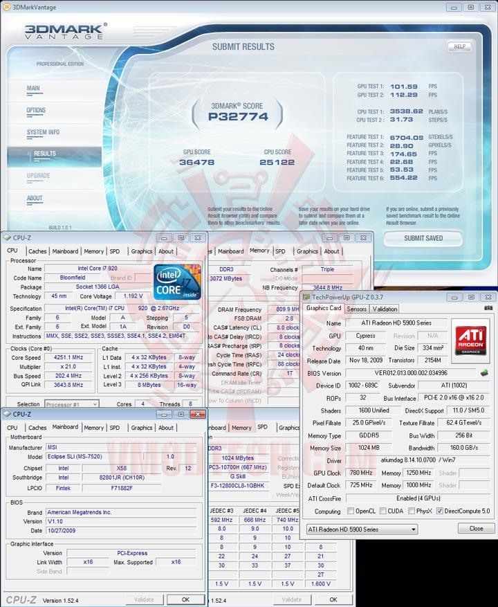 07 cfoc HIS Radeon HD 5970 2GB GDDR5 CrossfireX Review
