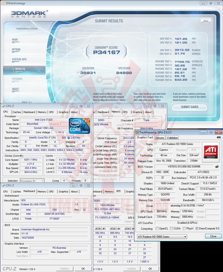 07 cfv HIS Radeon HD 5970 2GB GDDR5 CrossfireX Review