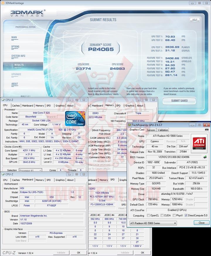 07 oc HIS Radeon HD 5970 2GB GDDR5 CrossfireX Review