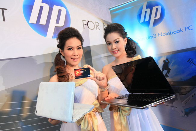 hp 2 เอชพี เปิดตัวมินิโน้ตบุ๊ค HP Mini 110 และโน้ตบุ๊ค HP Pavilion dm3