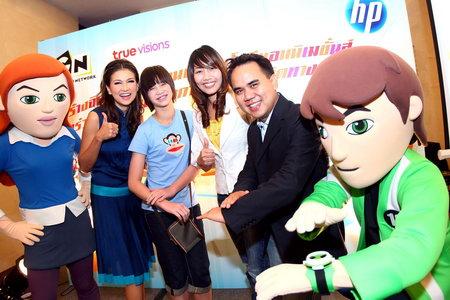 pic 001 เอชพีชวนเบน 10 สอนเด็กไทยสร้างการ์ตูนแอนิเมชั่นในโครงการ Toon Creator Awards