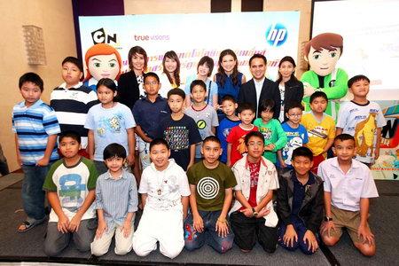 pic 003 เอชพีชวนเบน 10 สอนเด็กไทยสร้างการ์ตูนแอนิเมชั่นในโครงการ Toon Creator Awards