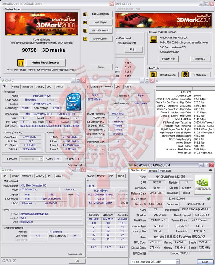 01 2161 ระเบิดพลังIntel® Core™ i7 920 REV. D0 ไปกับ Asus P6T Deluxe V2