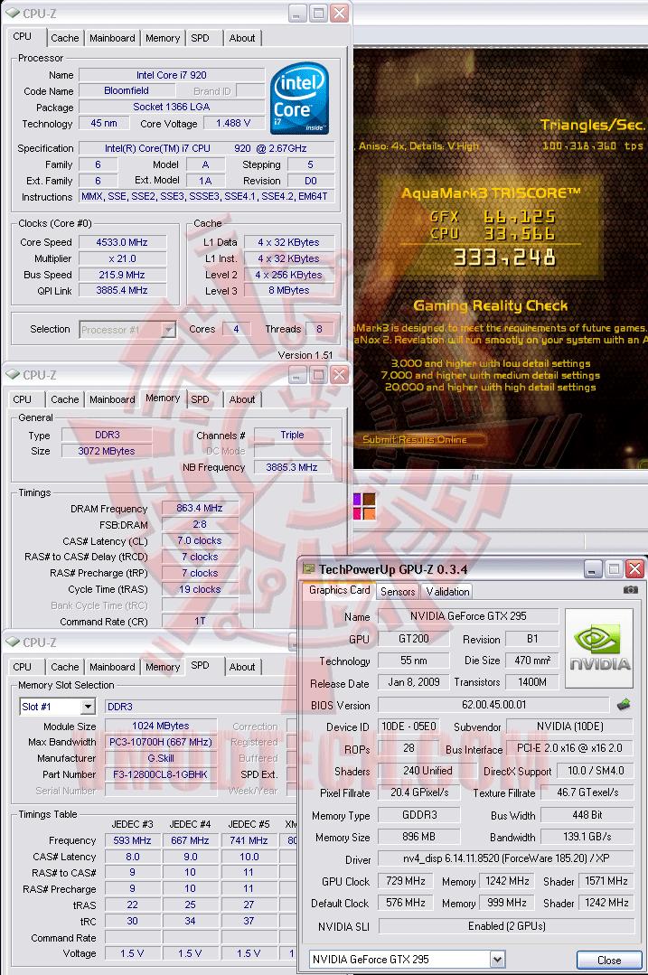 aq 216 ระเบิดพลังIntel® Core™ i7 920 REV. D0 ไปกับ Asus P6T Deluxe V2