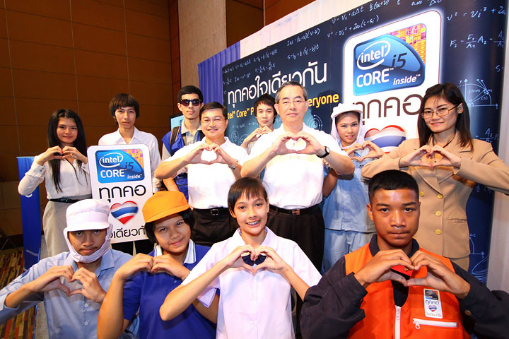 intel mega campaign 2 อินเทลผนึกพันธมิตร เปิดตัวแคมเปญการตลาดล่าสุด ทุกคอ ใจเดียวกัน กระตุ้นตลาดไอทีและผลักดันเทคโนโลยีให้เข้าถึงคนไทยทั่วประเทศ