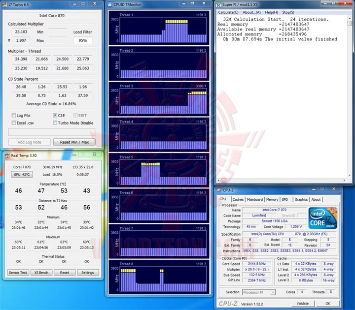 turbo870 Intel Core i7 870 & Intel Core i5 750 LGA1156 : First review