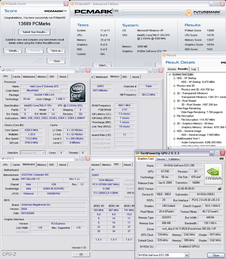 pcm05 4300 Intel® Core™ i7 975 Extreme Edition : First Review