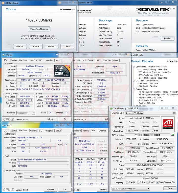 03 Intel® Core™ i7 980X Extreme Edition Gulftown OC Report