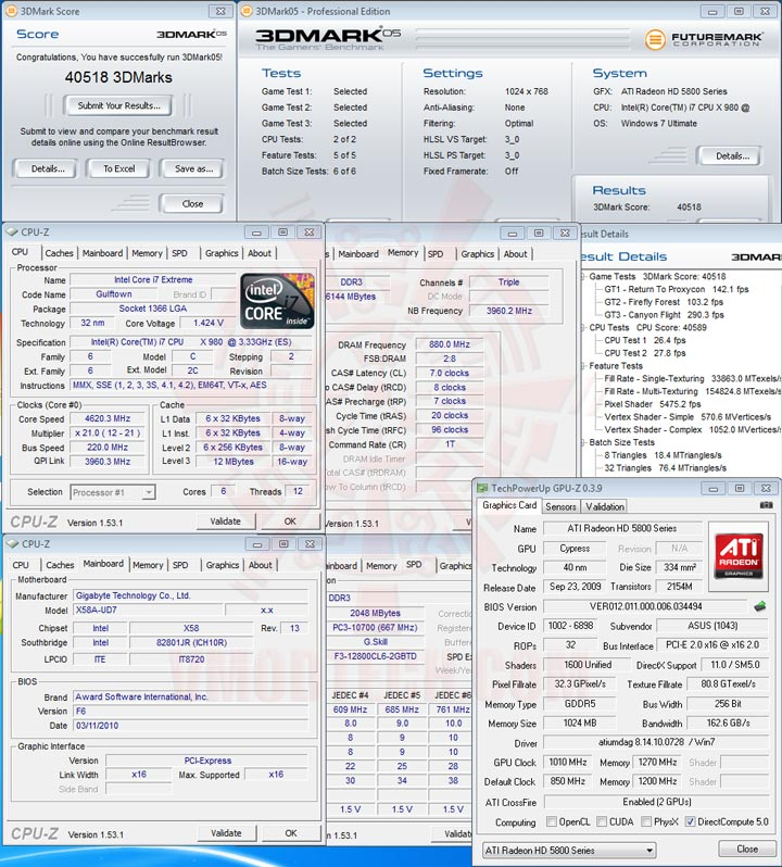 05 Intel® Core™ i7 980X Extreme Edition Gulftown OC Report