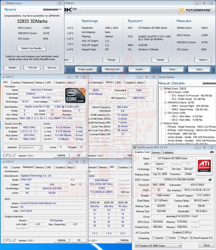 06 Intel® Core™ i7 980X Extreme Edition Gulftown OC Report