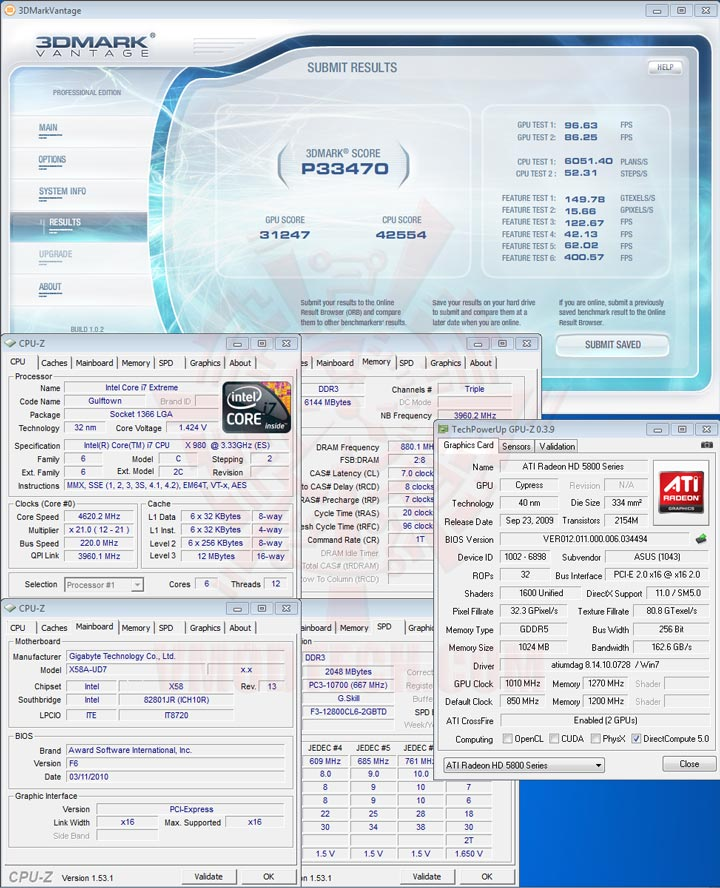 07 Intel® Core™ i7 980X Extreme Edition Gulftown OC Report