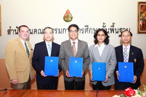 mg 8160 resized สำนักงานคณะกรรมการการศึกษาขั้นพื้นฐาน ลงนามความร่วมมือกับอินเทล ในโครงการอินเทล ทีช เพื่อพัฒนาทักษะครูไทยให้ทันสมัยด้วยไอที