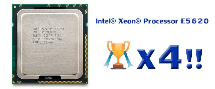 xeon e5620 1 Intel® Xeon® Processor E5620 smashed 4 Gold Cup with Water Cooling!