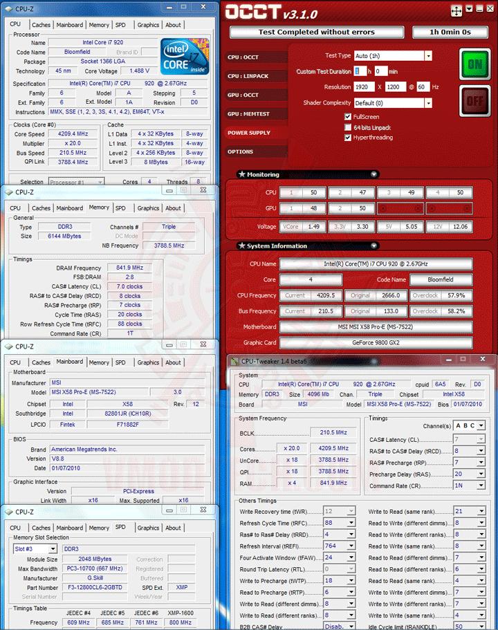 occt maxcube850 MAXCUBE BLITZ 850W 80Plus Review