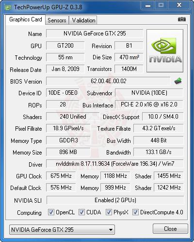 gpuz MSI P55 GD85 : Review