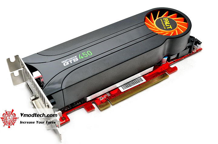 dsc 0270 PALIT GeForce GTS 450 Low Profile 1GB GDDR5