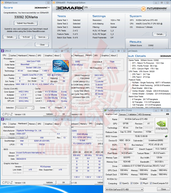 05 df Palit GeForce GTS 450 Sonic Platinum 1 GB GDDR5 Review