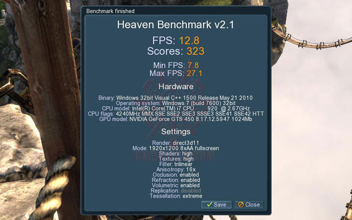 uh ov Palit GeForce GTS 450 Sonic Platinum 1 GB GDDR5 Review