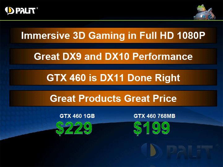 p5 PALIT GeForce GTX 460 SONIC 1024MB GDDR5 Review