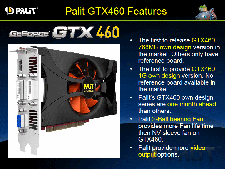 p8 PALIT GeForce GTX 460 SONIC 1024MB GDDR5 Review