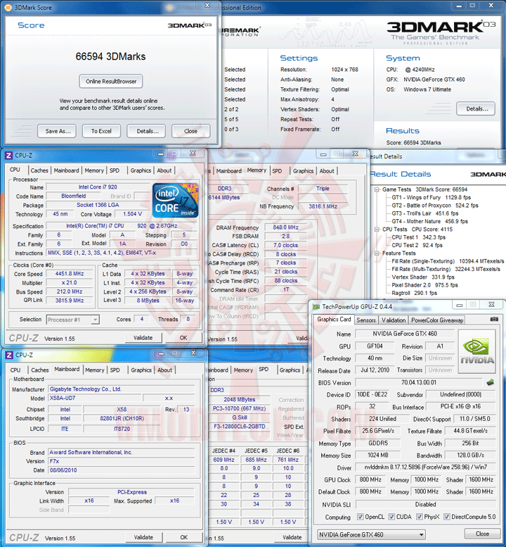 03 df Palit GeForce GTX 460 Sonic Platinum 1 GB GDDR5 Review