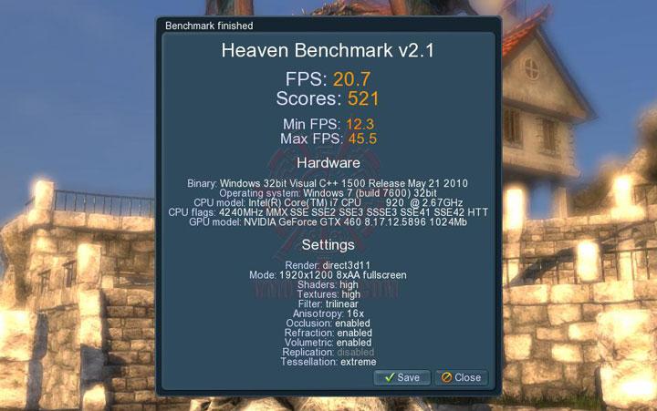 uh oc Palit GeForce GTX 460 Sonic Platinum 1 GB GDDR5 Review