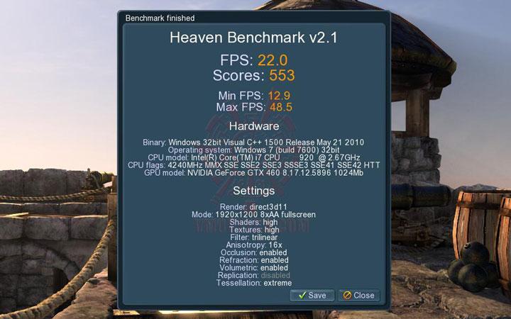 uh ov Palit GeForce GTX 460 Sonic Platinum 1 GB GDDR5 Review