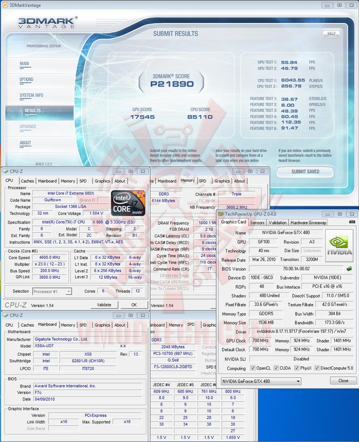 07 df PALIT GTX 480 1536MB DDR5 Full Review