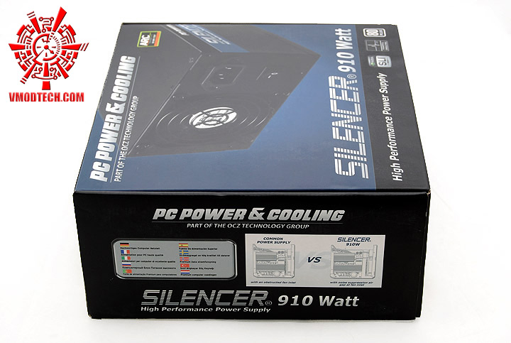 dsc 0030 PC POWER & COOLING SILENCER 910W