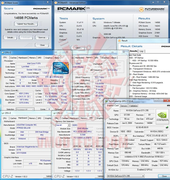pc05 4500 Review : ASUS P7P55D Deluxe