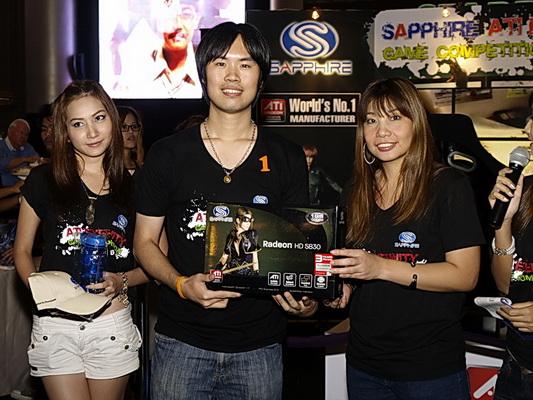 sapphire 14 resize SAPPHIRE โชว์ศักยภาพกราฟฟิคการ์ดแบรนด์ชั้นนำของโลก การันตีคุณภาพความแรงด้วยนักแข่งแชมป์ DiRT2