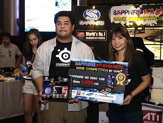 sapphire 15 resize SAPPHIRE โชว์ศักยภาพกราฟฟิคการ์ดแบรนด์ชั้นนำของโลก การันตีคุณภาพความแรงด้วยนักแข่งแชมป์ DiRT2