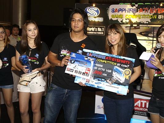 sapphire 16 resize SAPPHIRE โชว์ศักยภาพกราฟฟิคการ์ดแบรนด์ชั้นนำของโลก การันตีคุณภาพความแรงด้วยนักแข่งแชมป์ DiRT2