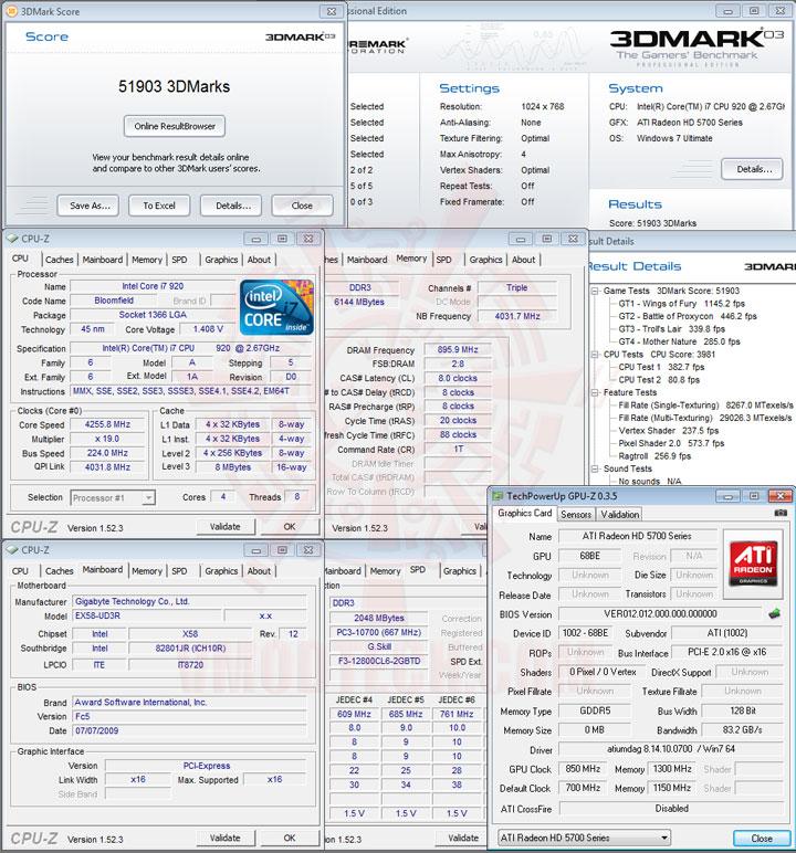 03 850 SAPPHIRE Radeon HD 5750 1GB GDDR5 Review
