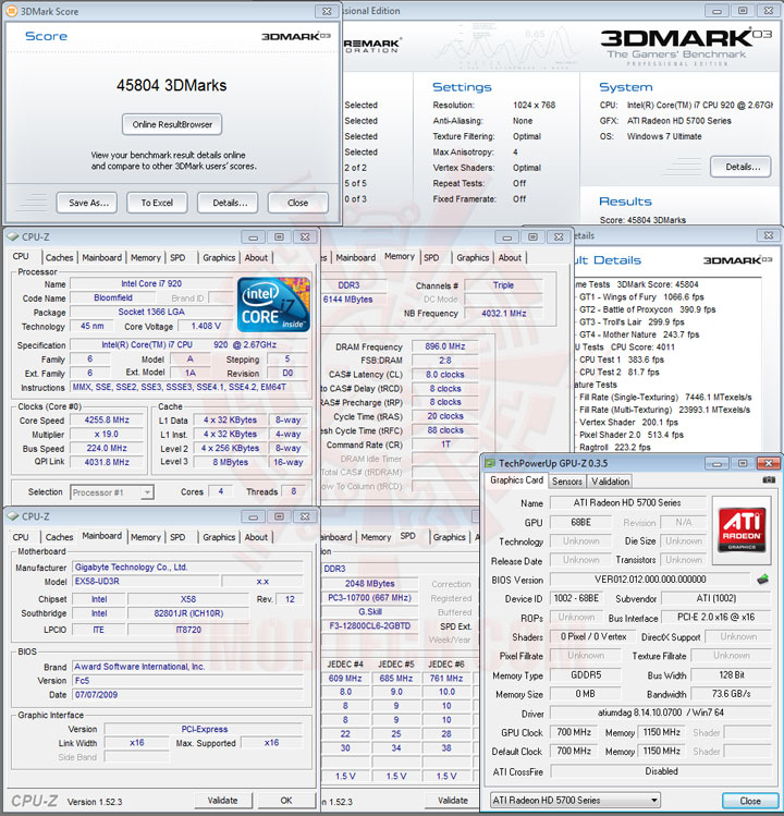 03 SAPPHIRE Radeon HD 5750 1GB GDDR5 Review