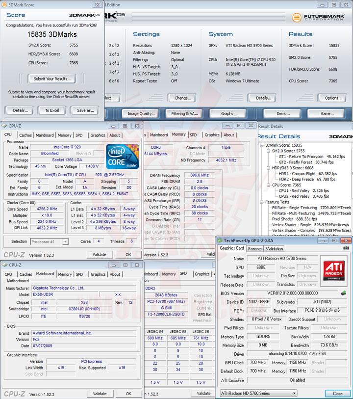 06 SAPPHIRE Radeon HD 5750 1GB GDDR5 Review