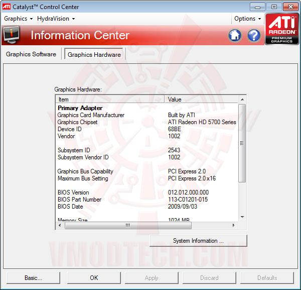 ccc3 SAPPHIRE Radeon HD 5750 1GB GDDR5 Review