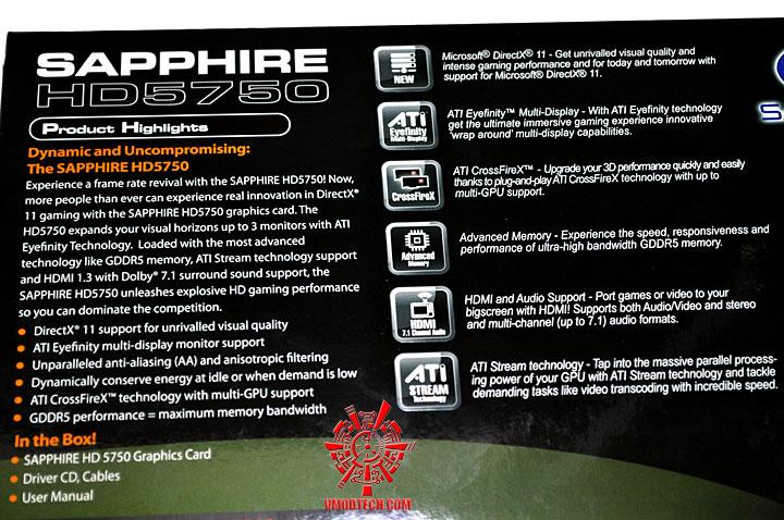 p 045 SAPPHIRE Radeon HD 5750 1GB GDDR5 Review