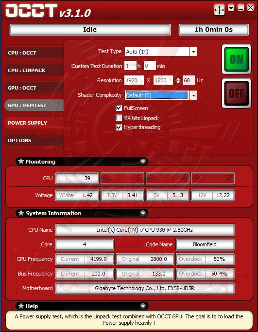 occt 001 SEASONIC MI2D 850W 80 PLUS SILVER Review