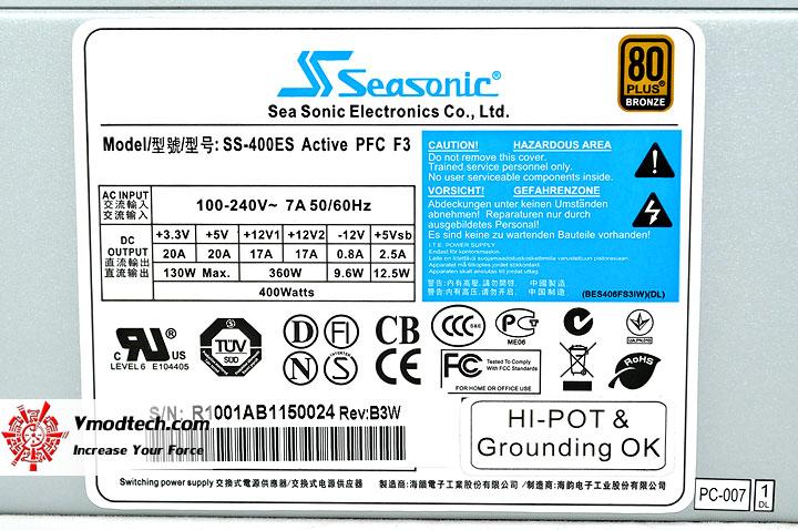 dsc 0131 SEASONIC SS 400ES 400W 80Plus Bronze Review